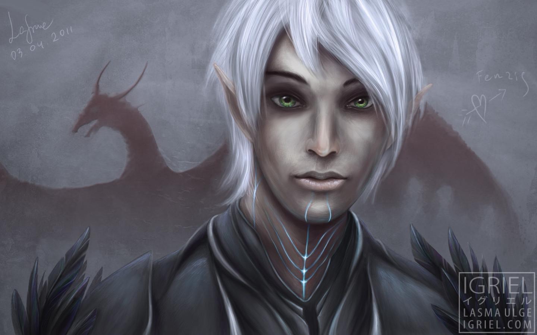 Fenris Dragon Age 2 Igriel Art
